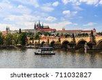 prague  czech republic   june... | Shutterstock . vector #711032827