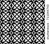 stylish decorative pattern | Shutterstock .eps vector #711044743