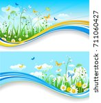 summer or spring template for... | Shutterstock .eps vector #711060427