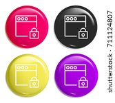 browser multi color glossy...