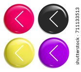 back multi color glossy badge...