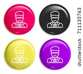 lawyer multi color glossy badge ...