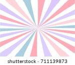 pop art sunburst background in... | Shutterstock .eps vector #711139873