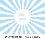 pop art sunburst background in... | Shutterstock .eps vector #711141697