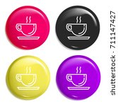 coffee cup multi color glossy...