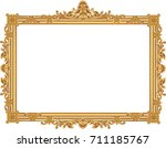 illustration of an antique... | Shutterstock .eps vector #711185767