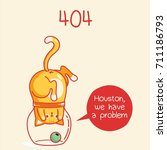 404. fanny cats | Shutterstock .eps vector #711186793