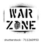 ''war zone'' warning message...