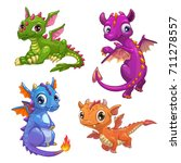 Little Dragons Set. Funny...