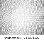 abstract halftone dotted black... | Shutterstock .eps vector #711301627