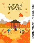 autumn illustrations | Shutterstock .eps vector #711330433