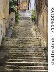 stairs | Shutterstock . vector #711408193