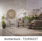 Modern Grey Stone Wall Luxury...