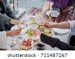 wine | Shutterstock . vector #711487267