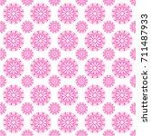 seamless abstract pattern... | Shutterstock .eps vector #711487933