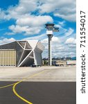 Small photo of Air traffic control tower in the airport.