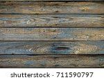 texture. old painted boards.... | Shutterstock . vector #711590797
