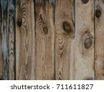 the texture of the wood. an old ... | Shutterstock . vector #711611827