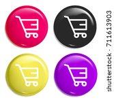 shopping cart multi color...
