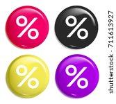 percentage discount multi color ...