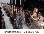 new york  ny  usa   september 7 ... | Shutterstock . vector #711629737