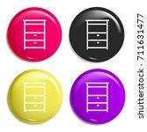 cabinet multi color glossy...