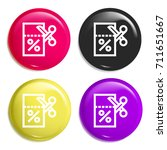 coupon multi color glossy badge ...
