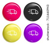 delivery truck multi color...