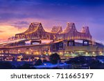 new orleans  louisiana  usa at... | Shutterstock . vector #711665197