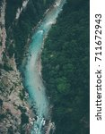 Small photo of Aerial photography of beautiful mountain river canyon