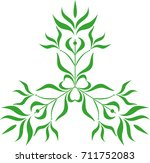 abstract image of a plant | Shutterstock .eps vector #711752083