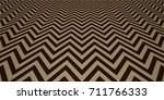 abstract zig zag pattern... | Shutterstock .eps vector #711766333