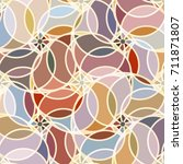 abstract colorful pattern for... | Shutterstock .eps vector #711871807