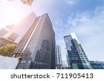 common modern business... | Shutterstock . vector #711905413