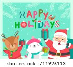 cute cartoon character... | Shutterstock .eps vector #711926113