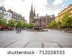 clermont ferrand  france   july ...   Shutterstock . vector #712028533