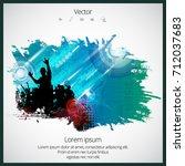 dancing people | Shutterstock .eps vector #712037683