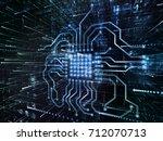 virtual space series. backdrop... | Shutterstock . vector #712070713
