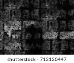 grunge background of black and... | Shutterstock . vector #712120447