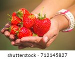 cropped image of woman's hands... | Shutterstock . vector #712145827
