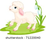 Spring Background With Easter...