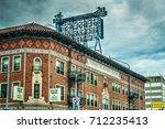 los angeles  ca  usa   october... | Shutterstock . vector #712235413