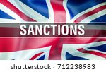 sanctions on united kingdom.... | Shutterstock . vector #712238983
