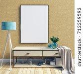 3d illustration of modern... | Shutterstock . vector #712259593