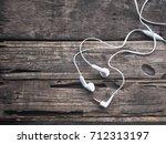 earphones | Shutterstock . vector #712313197