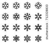 Decorative Vector Snowflakes