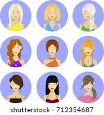 vector people icons  avatars