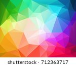vector abstract irregular... | Shutterstock .eps vector #712363717
