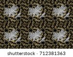 raster abstract background with ... | Shutterstock . vector #712381363