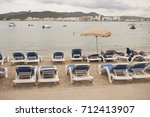 Small photo of Sant Antony de Portmany, Ibiza, Balearic Islands - August 30, 2014 : Tourists in Sant Antony de Portmany